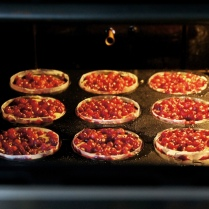 Cool in the oven