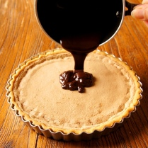 Pour over tart