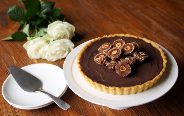 Chocolate Jaffa Tart